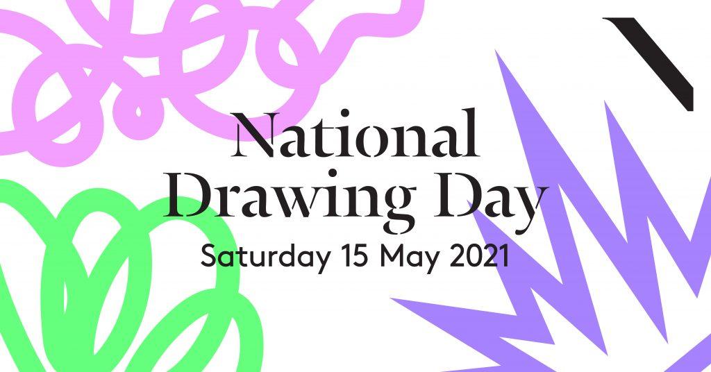 National drawing day 2021 logo